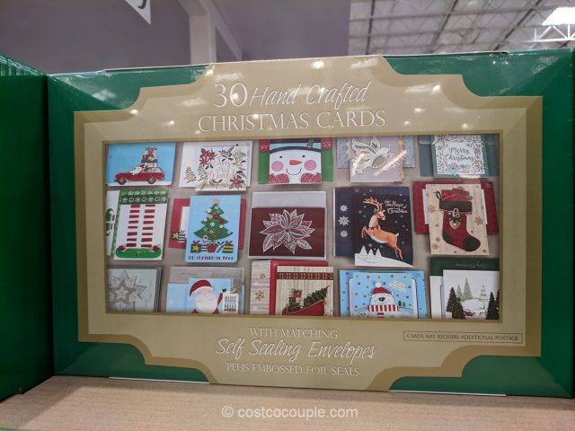 Hand Crafted Christmas Cards Costco