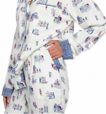 Munki Munki Ladies' Flannel PJ Set Costco