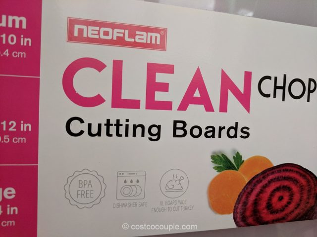 NeoFlam 3-Piece Cutting Board Set Costco