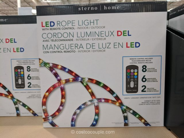 Sterno Home LED Rope Light Costco