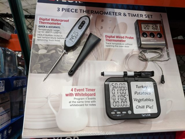 Taylor Thermometer and Timer Set Costco