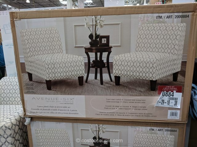 Ave Six Chair and Table Set Costco