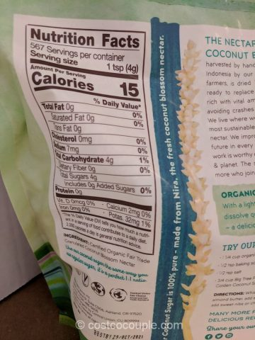 Big Tree Farms Organic Coconut Sugar Costco