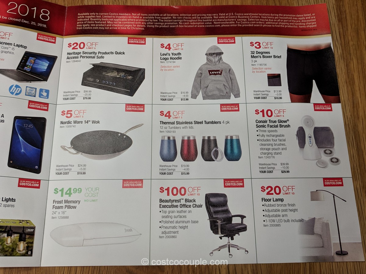 Costco 2018 Holiday Gift Event 12 14 18 To 12 24 18