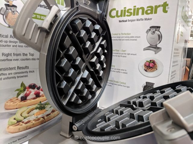 Cuisinart Vertical Belgian Waffle Maker Costco