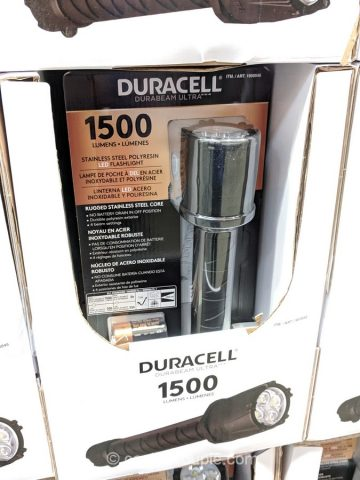 Duracell 1500 Lumen Flashlight Costco