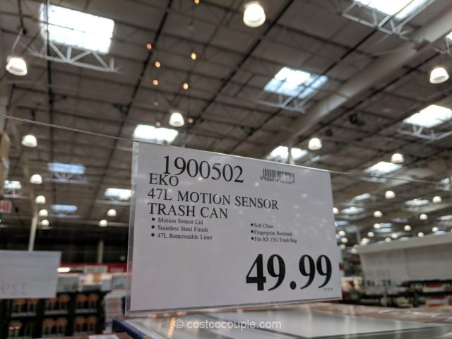 Eko Motion Sensor Trash Can Costco