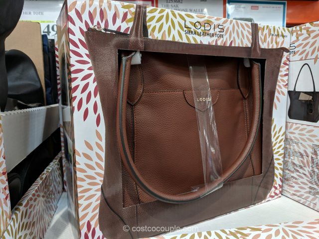 Lodis Siera Leather Tote