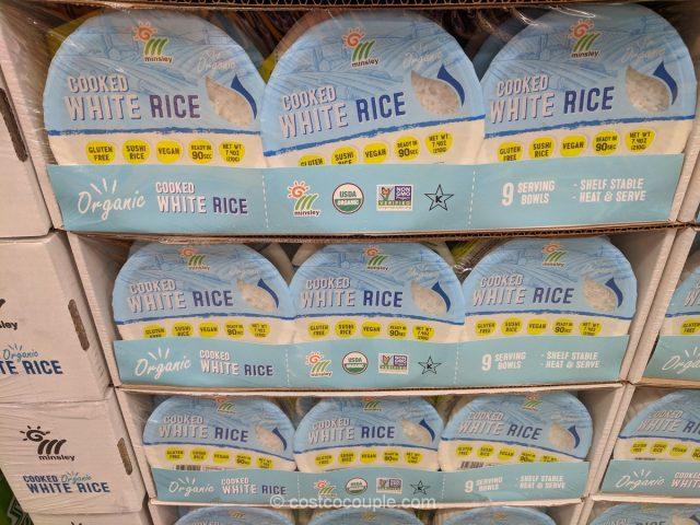 Minsley Organic Cooked White Rice Costco