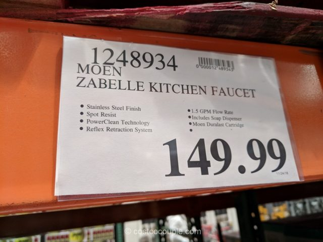 Moen Zabelle Kitchen Faucet Costco