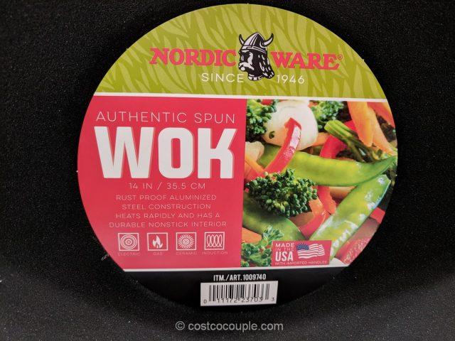 NordicWare 14-Inch Wok Costco
