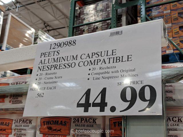 Peet S Nespresso Compatible Aluminum Capsules