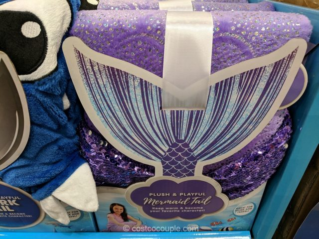 Plush and Playful Character Tail Blanket Costco