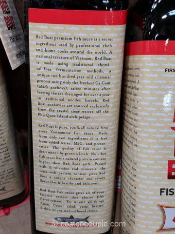 Red Boat 40N Fish Sauce Costco
