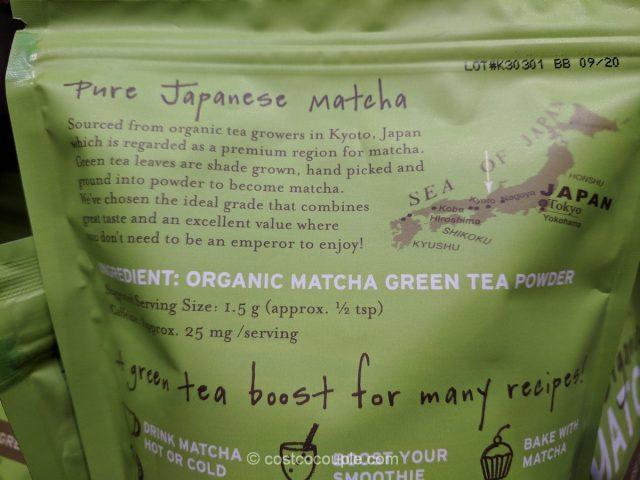 Sencha Naturals Organic Matcha Costco