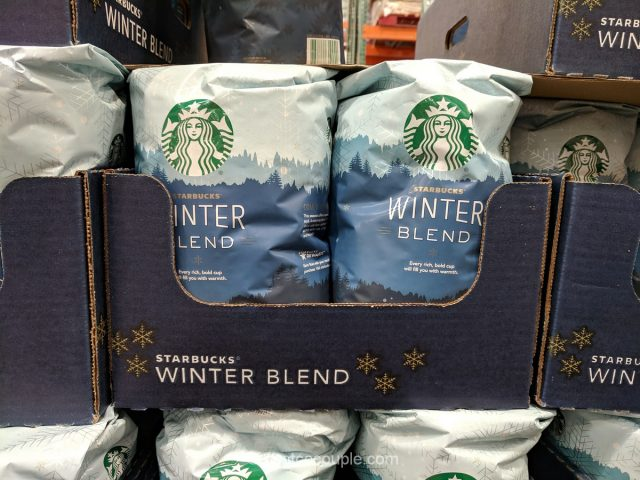 Starbucks Winter Blend Coffee Costco