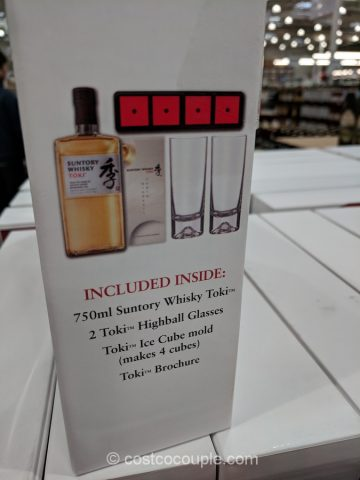 Suntory Toki Whisky Gift Set Costco
