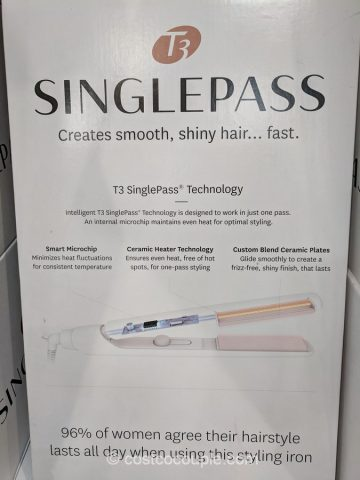 T3 Singlepass Straightening And Styling Iron