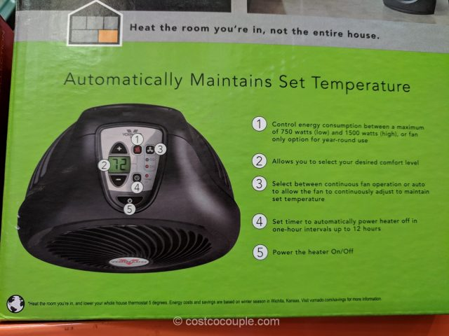 Vornado Whole Room Heater Costco
