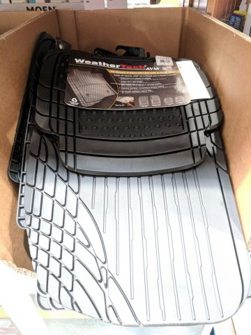 Weathertech 4-Piece Mat Set Costco
