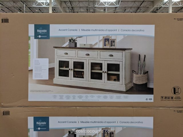 Bayside Furnishings Accent Console Costco