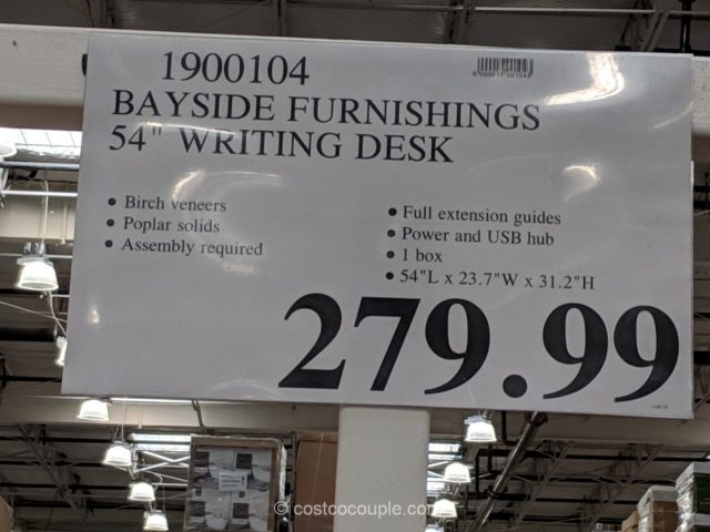 Bayside Furnishings Writing Desk Costco