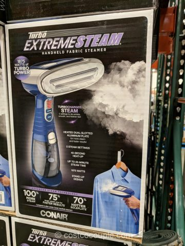 Conair Turbo Extreme Steam Handheld Garment Steamer Costco