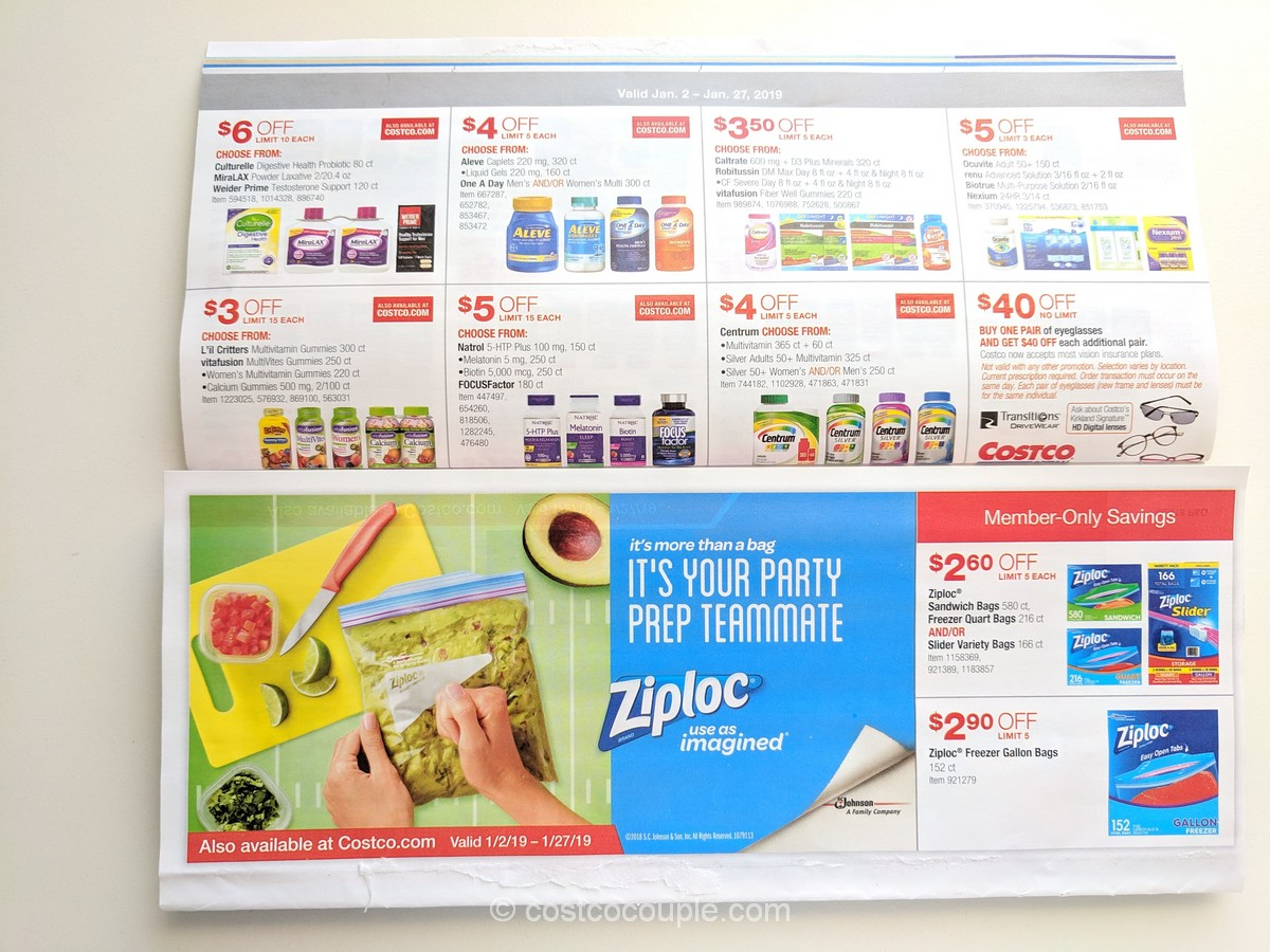 Costco January 2019 Coupon Book 01 02 19 To 01 27 19