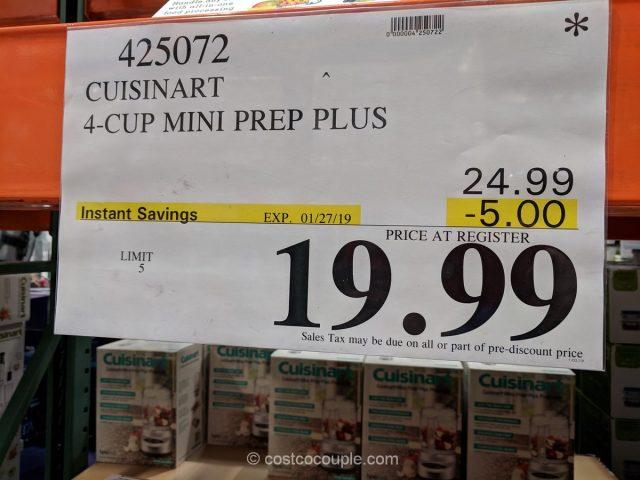 Cuisinart 4-Cup Mini Prep Plus Costco