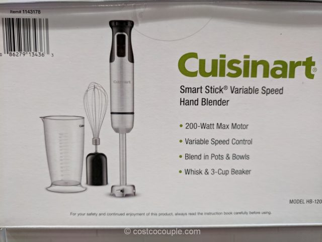 Cuisinart Smart Stick Hand Blender Costco