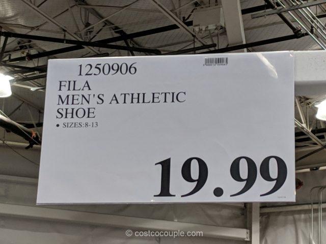 Fila Mens Athletic Shoe Costco