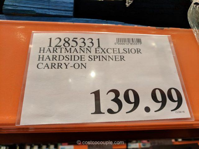 Hartmann Excelsior Hardside Spinner Costco