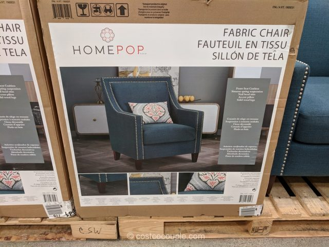 HomePop Fabric Chair Costco