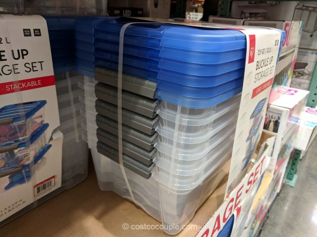 Iris Buckle Up Storage Set Costco