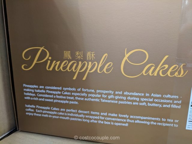 Isabelle Pineapple Cake Costco