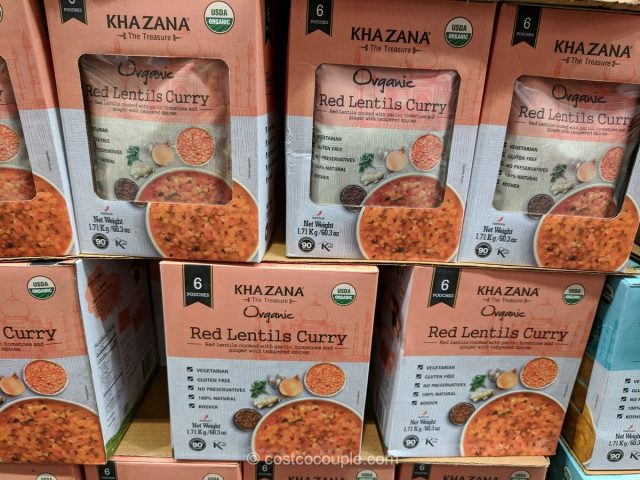 Khazana Organic Red Lentils Curry