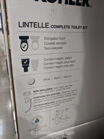 Kohler 2 Piece Lintelle Complete Toilet Kit