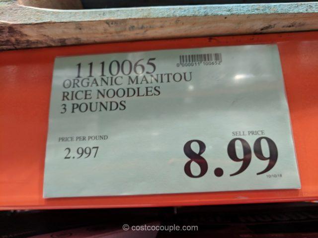 Manitou Organic Rice Noodles Costco