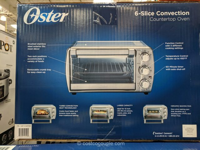 Oster Countertop Convection Oven Costco