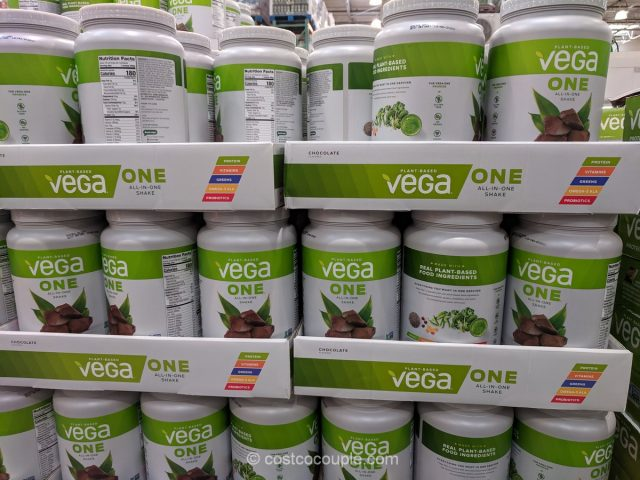 Vega One Plant-Based All-In-One Chocolate Shake Costco