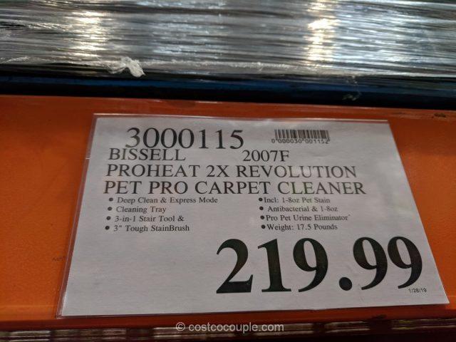 Bissell Proheat 2X Revolution Pet Pro Carpet Cleaner Costco