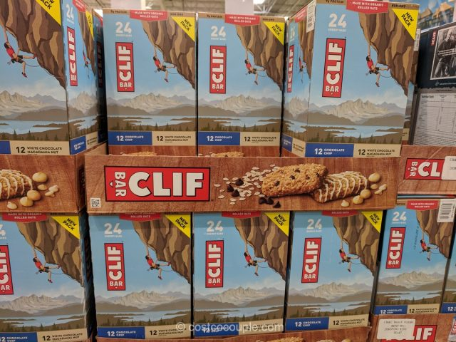 Clif Bar Variety Pack Costco