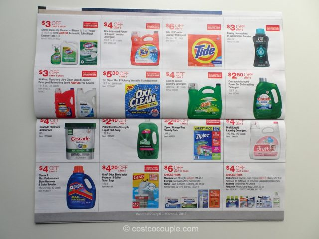 Costco February 2019 Coupon Book 02/06/19 to 03/03/19