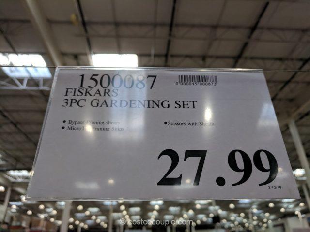 Fiskars Gardening Set Costco