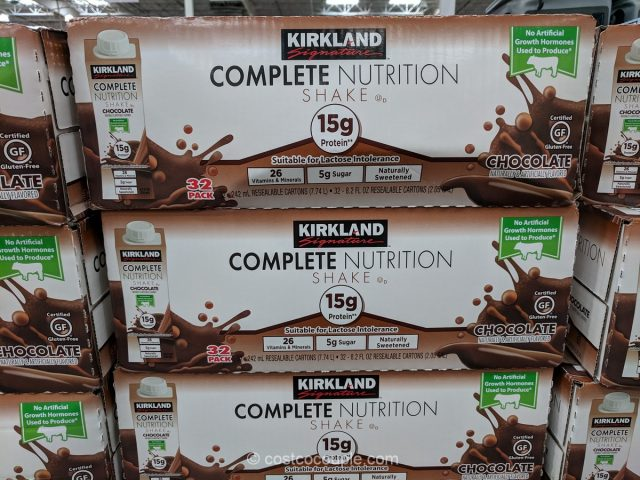 Kirkland Signature Complete Nutrition Chocolate Shake Costco