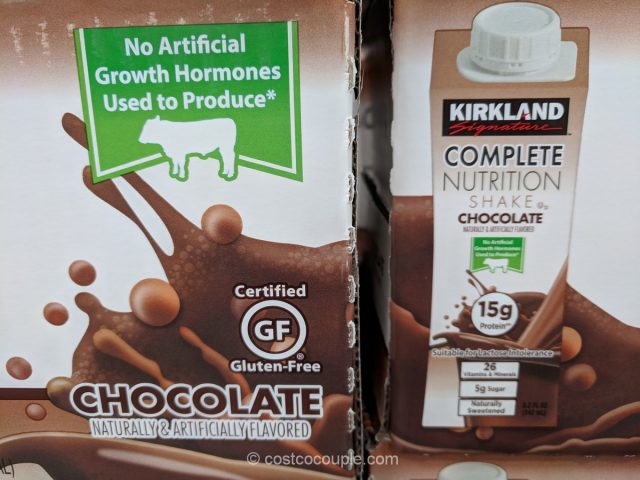Kirkland Signature Complete Nutrition Chocolate Shake Costco