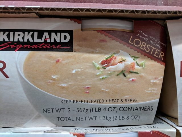 Kirkland Signature Lobster Bisque Soup Costco