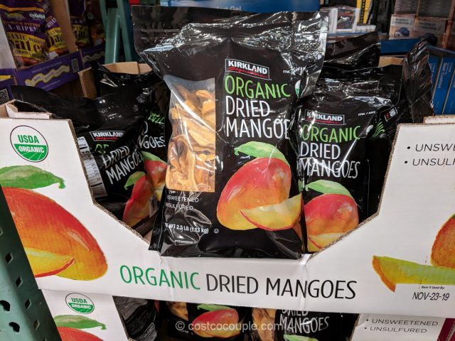 Kirkland Signature Organic Dried Mangoes Costco