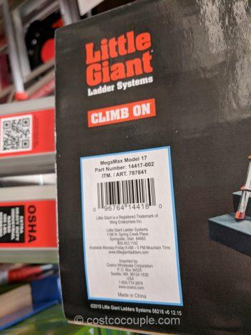 Little Giant MegaMax Model 17 Ladder System Costco