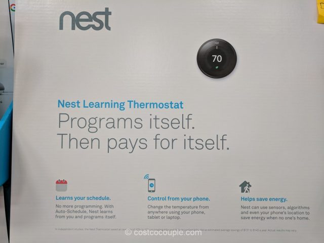 Nest Thermostat and Google Mini Set Costco